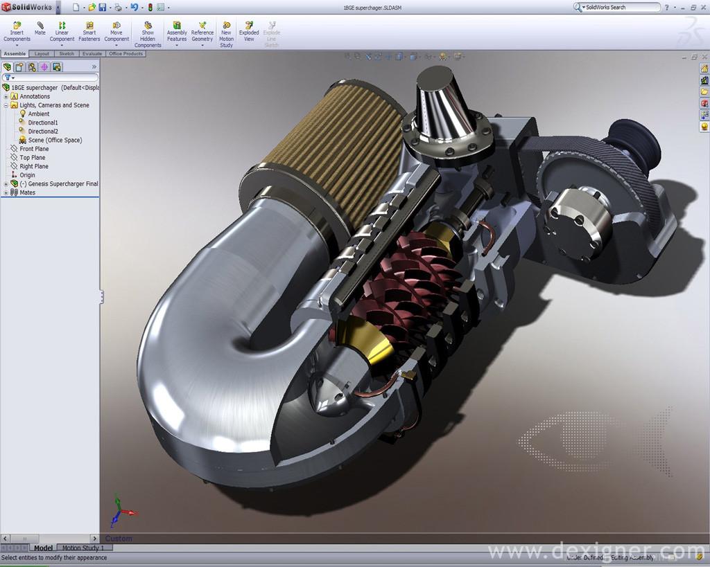 Solidworks tutorials voor technisch onderwijs nieuws for Programmi di design