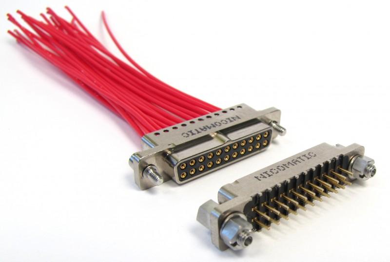 Compacte en schokbestendige connectoren
