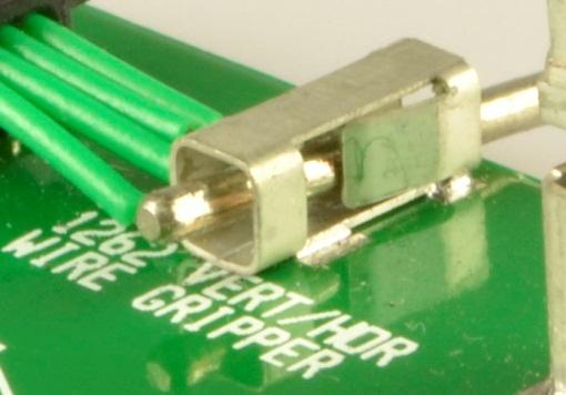 Alternatief voor solderen van draden op printplaat