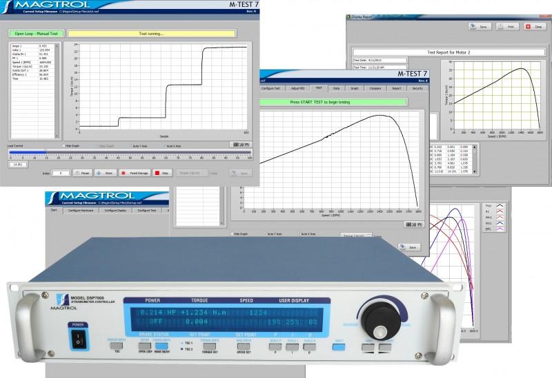 Programmeerbare controller voor motortesten