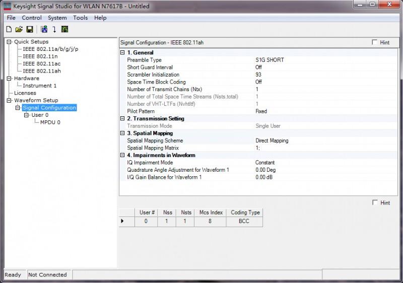Testsoftware voor nieuwste WLAN