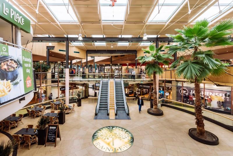 winkelcentrum oranjerie in apeldoorn