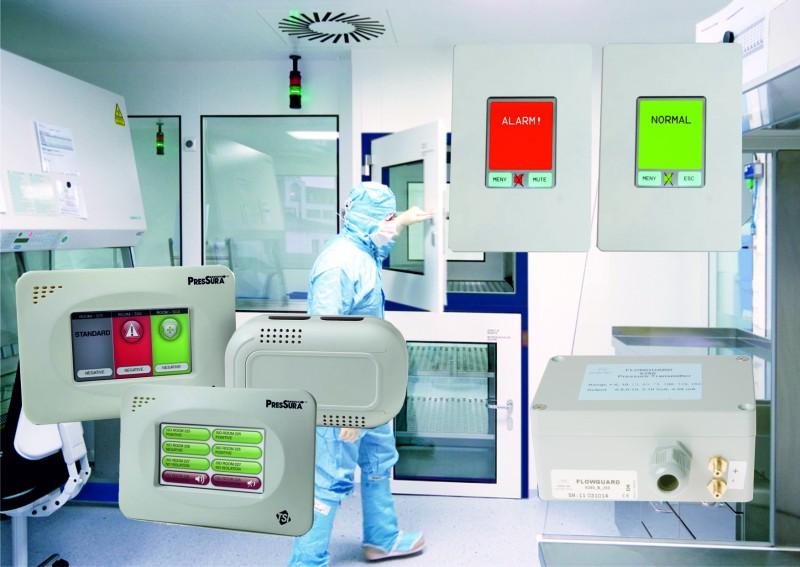 Ruimtedruk monitoringsysteem