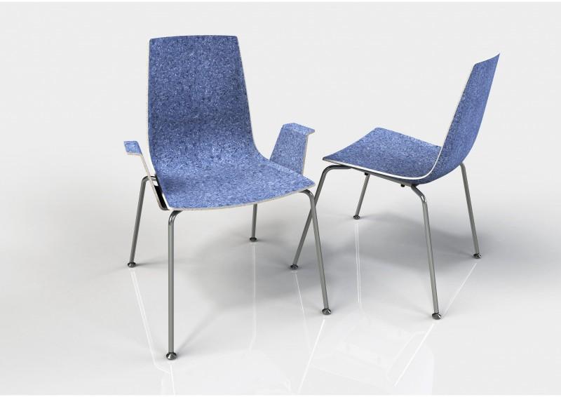 Stoel Design Stoelen.Designstoelen Uit Afgedankte Jeans Nieuws Engineersonline Nl
