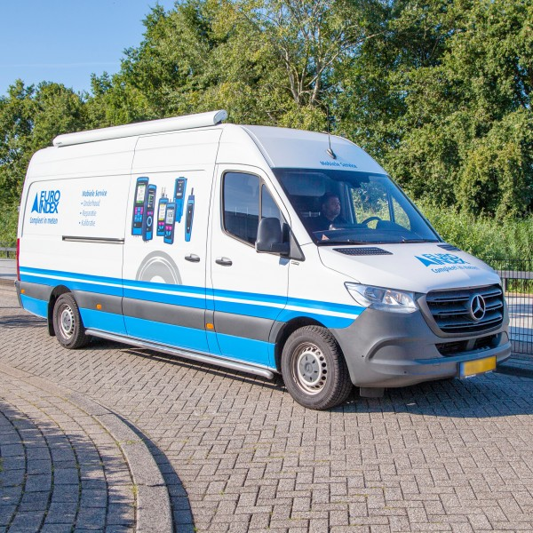 Euro-Index start mobiele Service met ISO 9001 certificering